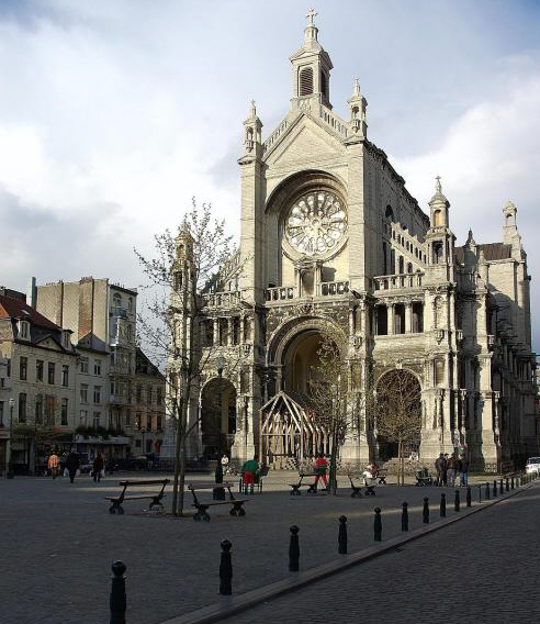 Place St Catherine Brussels Restaurants