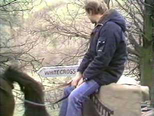 Greg on his way to Whitecross