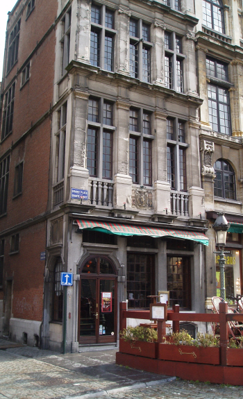 Secret Army Brussels Filming Locations Le Candide And